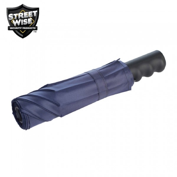 Cutting Edge Stunbrella 32 Mil Stun Flashlight Black-Navy