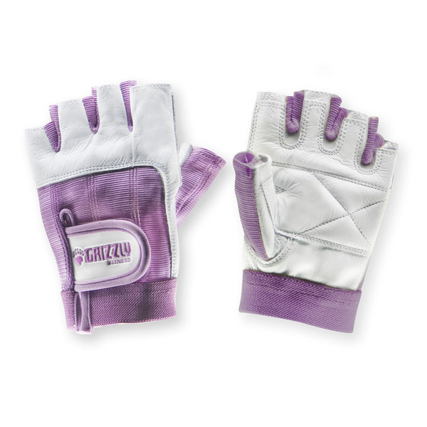 Grizzly Womens Purple Grizzly Paw Gloves - XS