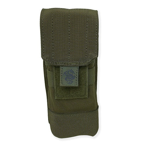 Tacprogear Olive Drab Green Single Rifle Mag Pouch