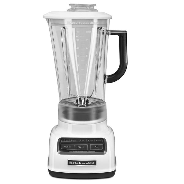 KitchenAid 5-Spd Diamond Blender with 60oz Pitcher - White