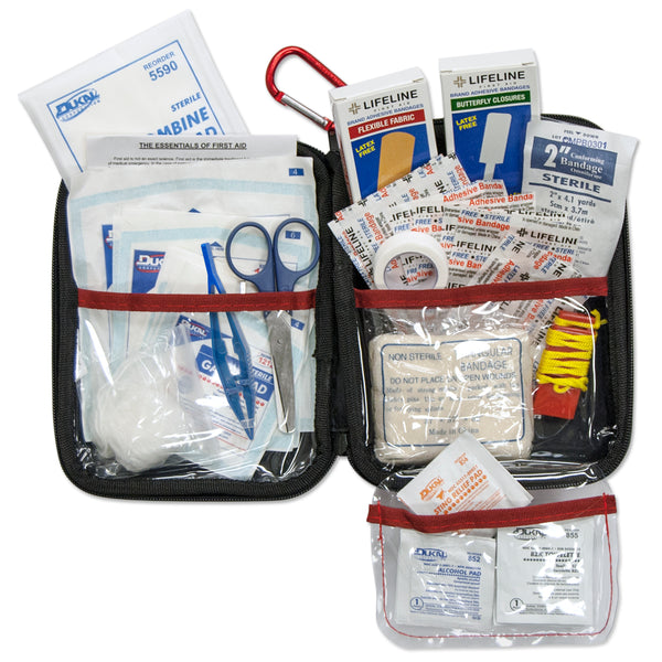 Lifeline Large Hard Shell Foam First Aid Kit 85 Pieces