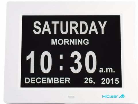 The HiClear Dementia Clock™ - *FREE Shipping*