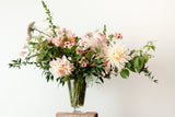 DIY flower arrangement + online workshop