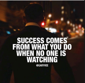 WHEN NO ONE IS WATCHING | Motivational Video for Success in Life