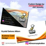 Business Card Graphic Design - WHGHOLLYWOOD