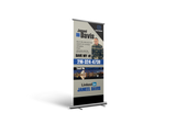 Retractable Banner - Print + Design - FREE SHIPPING - WHGHOLLYWOOD