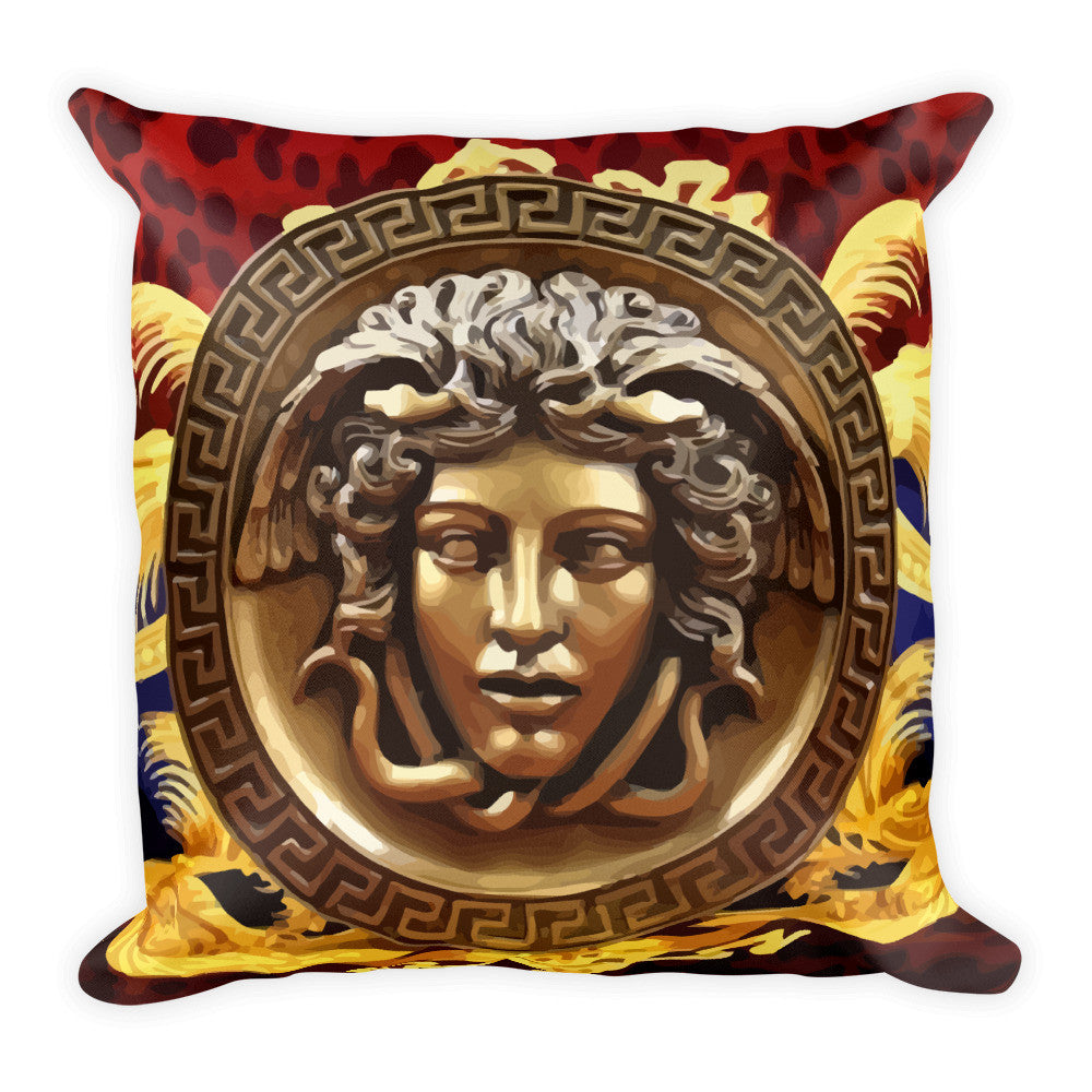 No False Gods Square Pillow - Ask for a custom design - WHGHOLLYWOOD
