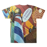TY Barbershop All-Over Printed T-Shirt - WHGHOLLYWOOD