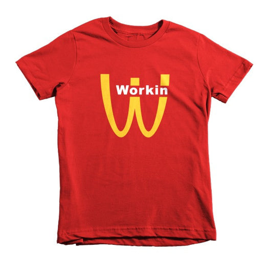W - Shirt Short sleeve kids t-shirt - Working - WHGHOLLYWOOD
