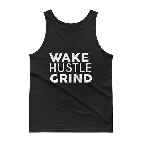 Wake Hustle Grind Classic Tank top - WHGHOLLYWOOD