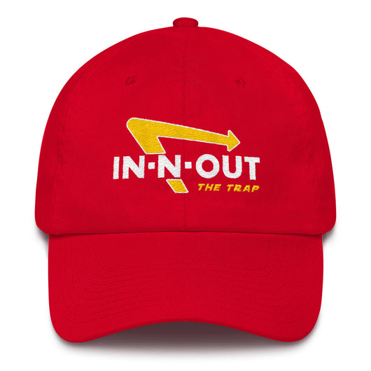in N Out the Trap Dad Hat - WHGHOLLYWOOD