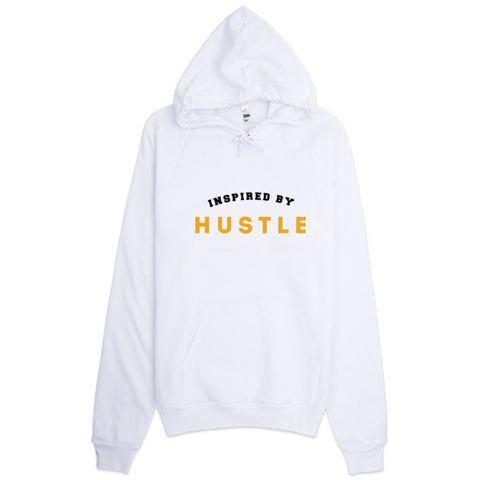 Inspired by Hustle Pull over Hoodie - WHGHOLLYWOOD