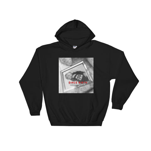Since Birth Wake Hustle Grind 2 Sided Hooded Sweatshirt - WHGHOLLYWOOD