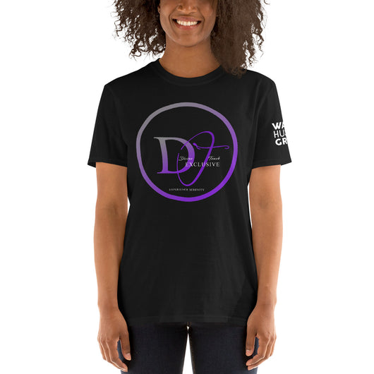Divine Touch Wake Hustle Grind Short-Sleeve Unisex T-Shirt - WHGHOLLYWOOD