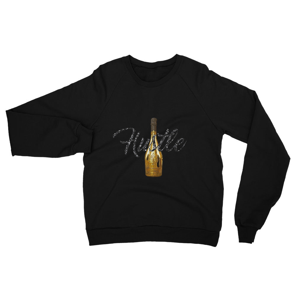 Hustle & Bottles  California Fleece Raglan Sweatshirt - WHGHOLLYWOOD