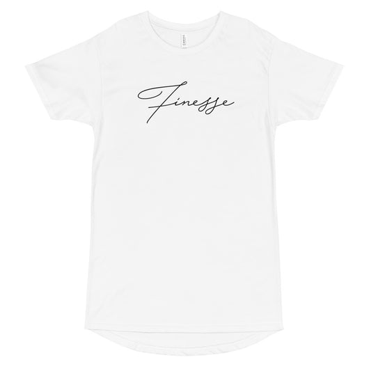Finesse Elongated Tee - WHGHOLLYWOOD