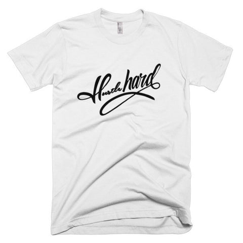 Short sleeve men's t-shirt - WHG Hustle Hard - WHGHOLLYWOOD