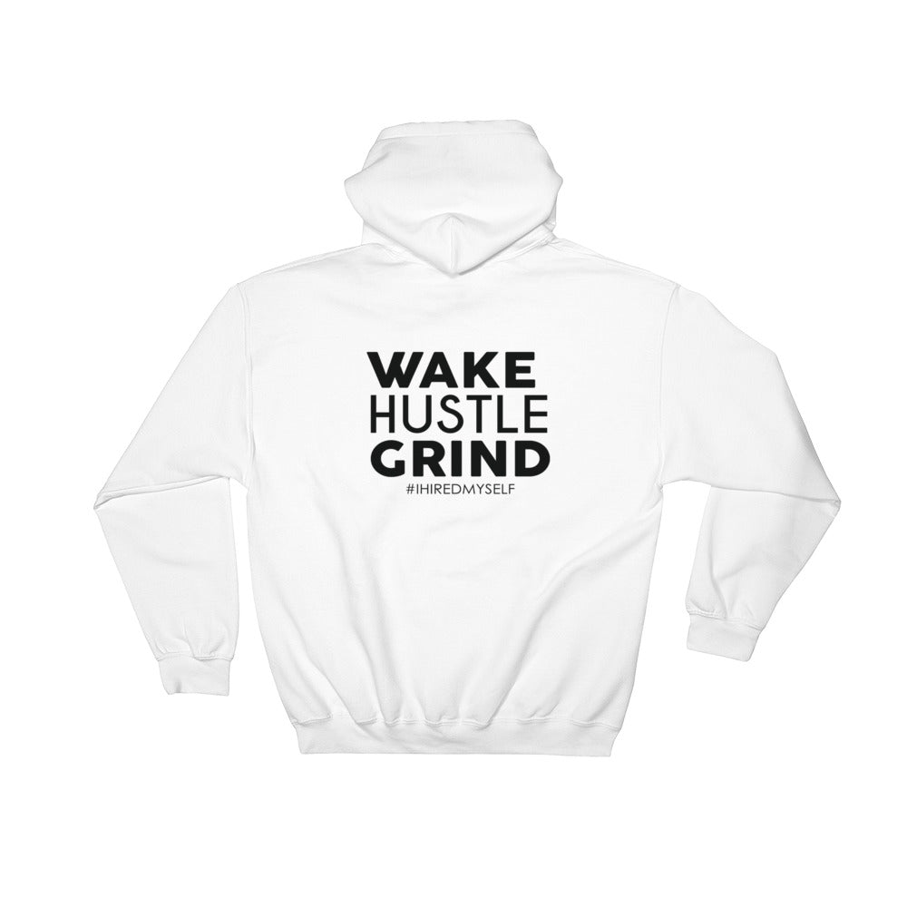 I tell all my Pros' to Wakehustlegrind Double Sided Hooded Sweatshirt - WHGHOLLYWOOD