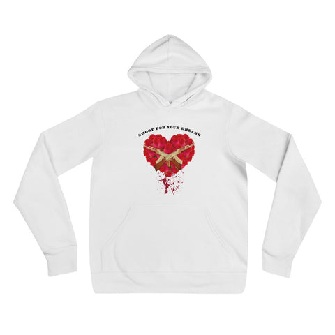 Shoot for your dreams hoodie - WHGHOLLYWOOD