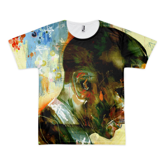Obama Farewell Goodbye Abstract Short sleeve men's t-shirt (unisex) - WHGHOLLYWOOD