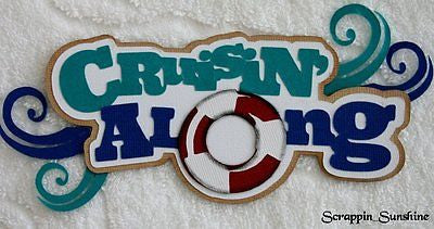 CRUISIN ALONG Cruise - Die Cut Title