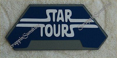 DISNEY STAR TOURS Die Cut Title - Scrapbook Paper Piece Piecing - SSFFDeb