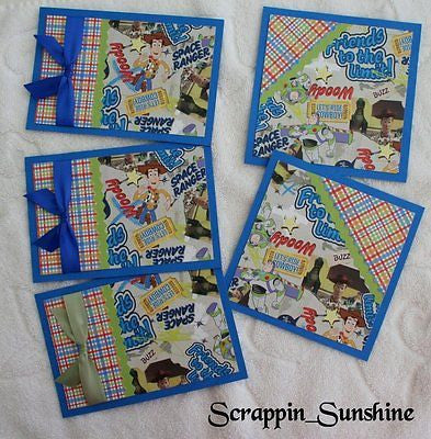 DISNEY TOY STORY Design Mat Set -  for Scrapbook Pages