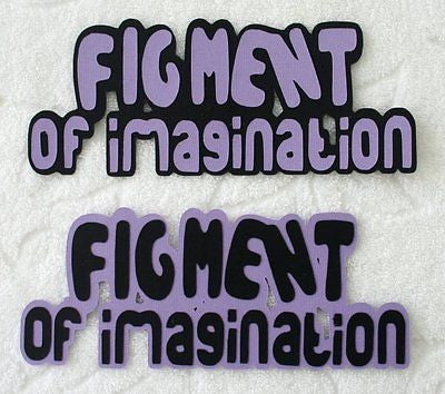DISNEY - FIGMENT Die Cut TITLE - Your Choice