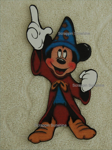 Disney FANTASMIC MICKEY Scrapbook Printed Paper Piece