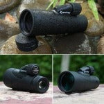 12x50 Monocular Eyeskey Optics Waterproof Monocular Quality for Hunting Telescope High Power Monocular with BaK4 Prism Optics