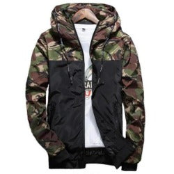 Hot Spring Autumn Men's Camouflage Coat Mens Hoodies Casual Jacket