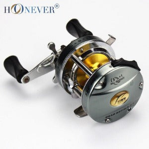 All Metal Drum Fishing Reel 5+1BB Sea Rod Baitcasting/Lure Wheel Reel Fishing Gear SBC4000-6000 - Safaryworld.com - 1