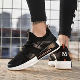 Spring Breathable Mesh Shoes Lace up Sports Shoes  Running Shoes Summer Joggin Trainers Sneakers