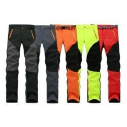 Camping Hiking Winter Outdoor Sport Pants Warm Waterproof Fleece Windproof Fishing Pants Men Women Mountain Climbing pantalones - Safaryworld Camping Fishing - Hiking Pants - Safaryworld.com
