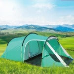 Camping hiking waterproof camping tent ,gazebo,awnings tent camping tourist tent sun shelter beach tent one hall and one room