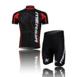 Cool Men's black merida Cycling Wear Short jersey Bicycle Bike Jersey Cycling Clothing - Safaryworld Camping Fishing - Cycling Jerseys - Safaryworld.com