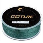 goture 328yds 300m 8 strands braided fishing line strong wirefilament 20-80lb