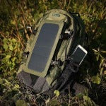 IP67 Waterproof Nylon 35L 6.5W Cycling Climbing Hiking Travel Solar Power Backpack with Solar Panel Bottle Bag - Fashion boom - Climbing Bags - Safaryworld.com