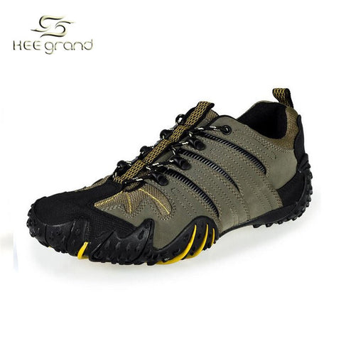Men's Hiking Shoes 2016 New Arrival Casual Breathable Waterproof Fashion Sneaker Outdoor Shoes 2 Colors XMR1122 - Safaryworld Camping Fishing - Hiking Shoes - Safaryworld.com