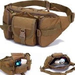 new hip packs outdoor pack waterproof bag tactical waist bag molle   sports military bag
