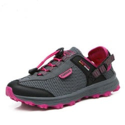 New Mesh Women And Men hiking shoes Summer style Breathable female outdoor sport climbing shoes camping shoes Sneakers Zapatos - Fires zapatos store - Hiking Shoes - Safaryworld.com