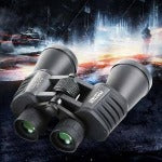 Outdoor Adjustable 10x50HD Zoom High Powered Binoculars 133m/1000m Telescope Day And Night Vision Black