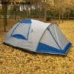 3-4 persons 1hall 1room high quality family camping tent waterproof outdoor tent with hall