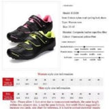 Professional Woman Road Bike Cycling Lock Shoes   Bicycle Shoes   Breathable Unisex