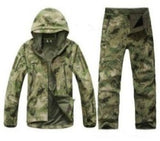 TAD Stalker Fishing Waterproof SoftShell Outdoor Jacket Shark Skin Military Camouflage Hunting Jackets Set Sport Army Clothes S6 - Safaryworld.com - Hiking Jackets - Safaryworld.com