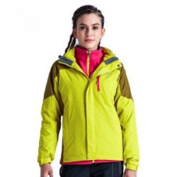 Winter Women 3 in 1 Hiking Jackets Girls Outdoor Sport Waterproof Thermal Two-piece Coats For Travelling Skiing Hiking S-XXXL - Safaryworld.com - 2