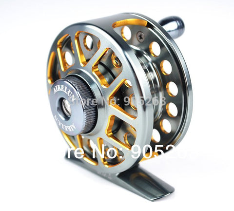 ZFseries Double color Aminum Die casting CNC Fly Fishing reels Fishing Tackle Fly Fishing Wheel - Mumujiuri Fishing's store - Fishing Reels - Safaryworld.com