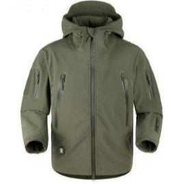 5.0 Upgraded Waterproof Tactical Jackets Winter Thermal Military Jackets Windproof Soft  Shell  Coat