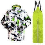 men winter snowboard suit  waterproof  windproof  ski jacket