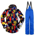Ski Wear Snowproof And Waterproof  Windproof  Ski Jacket men Winter  Snowboard suit